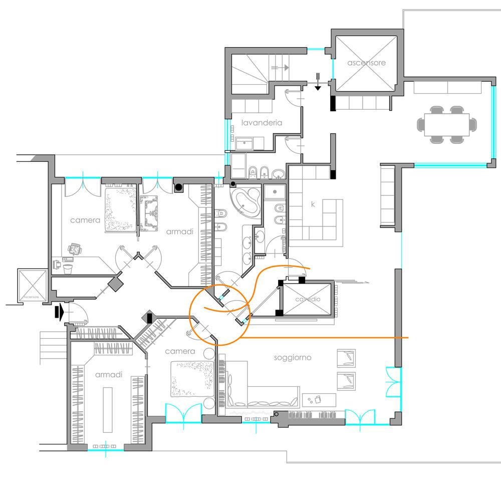 Servizi architettura d 39 interni emmetrestudio for Architettura d interni on line
